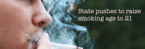 State Pushes To Raise Smoking Age to 21