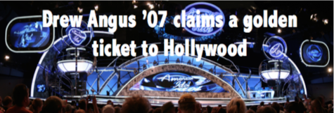 Drew Angus '07 claims a golden ticket to Hollywood