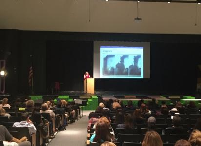 Mental health speaker welcomed to Westport