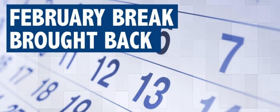 February break returns despite state schedule