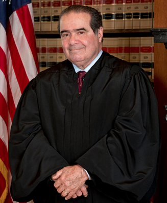 Justice Antonin Scalia, whose vacated position on the Supreme Court is causing a partisan rift