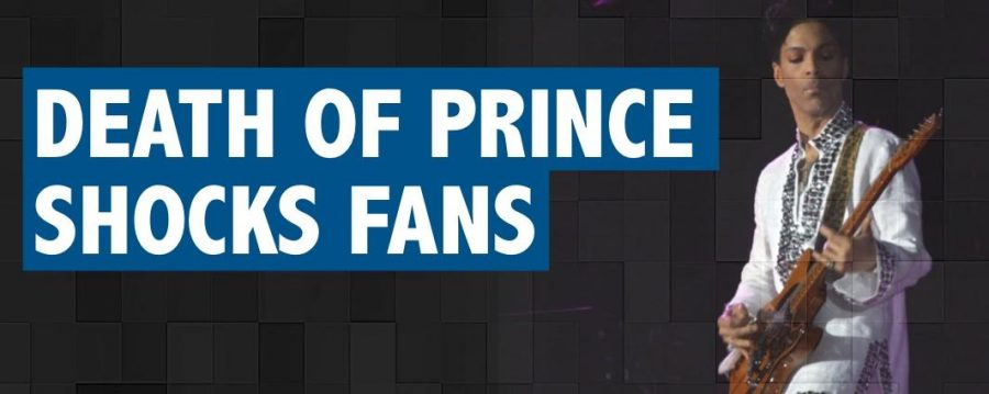 Death of Prince shocks fans and admirers