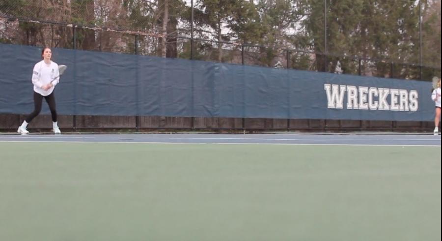 Staples+Girls%E2%80%99+Tennis+Opener+Vs.+Trumbull