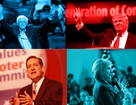 The Jabs of the 2016 Election: Unfiltered, unnerving and unfair