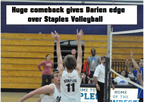 Huge comeback gives Darien edge over Staples Volleyball