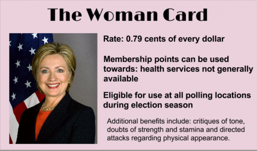The time I played the 'woman card'