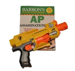 A.P. Assassination remains despite recent gun violence