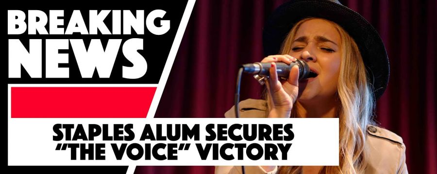 "Staples alum secures ""The Voice"" victory"