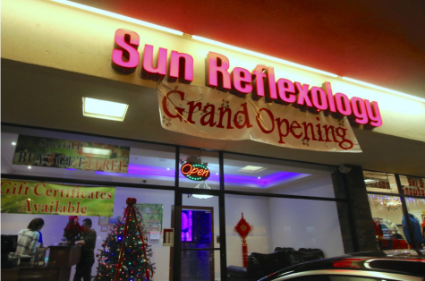 Sun Reflexology Provides Stress Relief for Staples Students