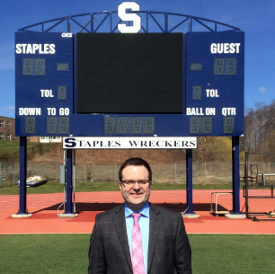 Principal D'Amico began his tenure at Staples on July 1
