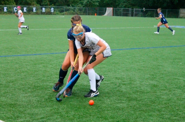 Girls' field hockey sweeping competition this year