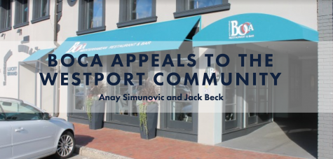Boca appeals to the Westport community