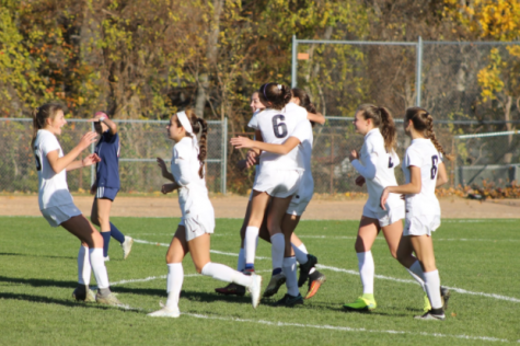 Girls' Soccer defeats McMahon 2-1