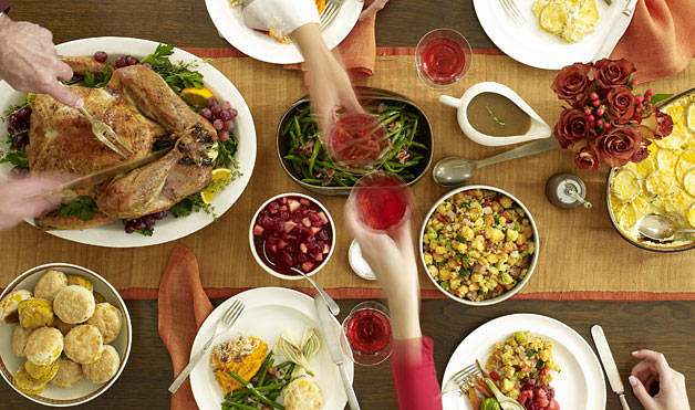 How to Celebrate Thanksgiving Without the Turkey