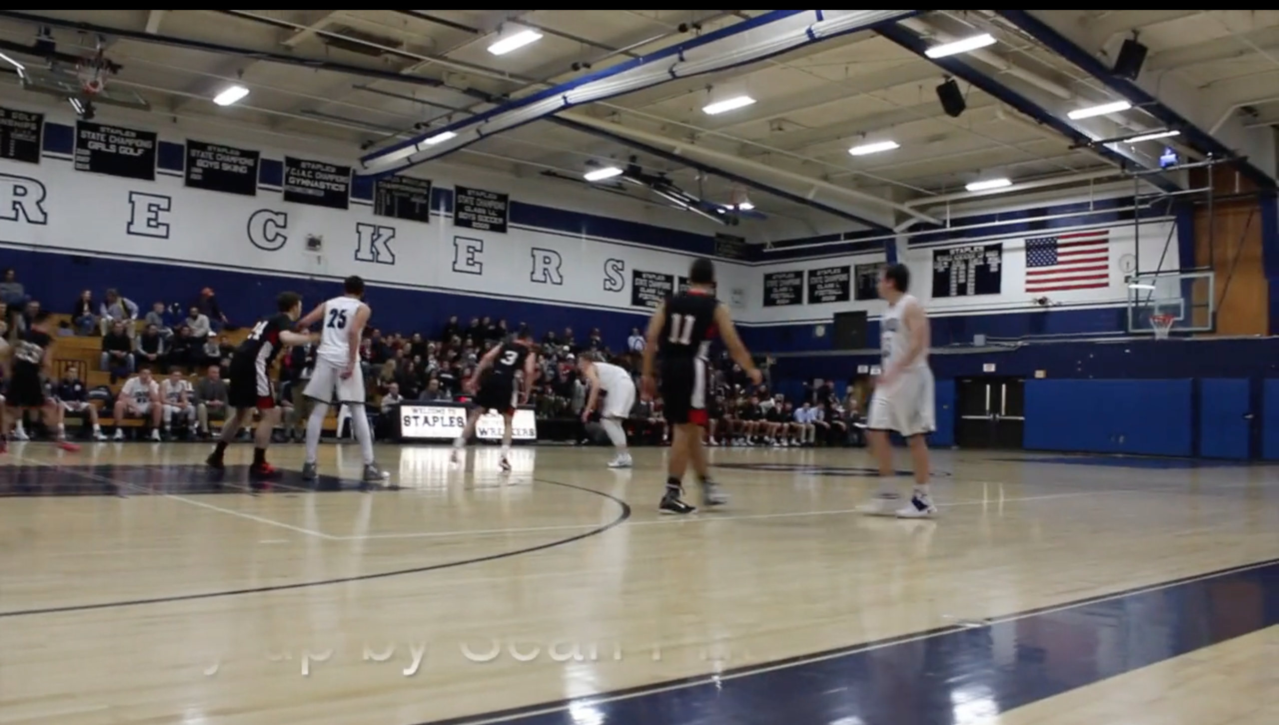Boys' basketball falls to Fairfield Warde at home