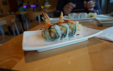 Battle of sushi in downtown Westport