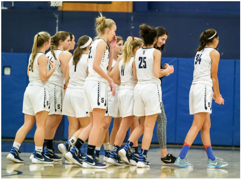 Girls' basketball teamwork and optimism paves way for FCIACs