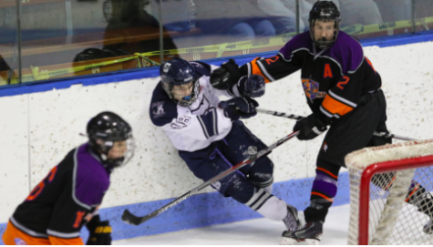 Wreckers Boys' Ice Hockey Gains Point Against Rival Stamford/Westhill