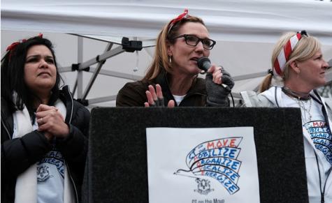 Westport Democrat march brings local awareness to political involvement