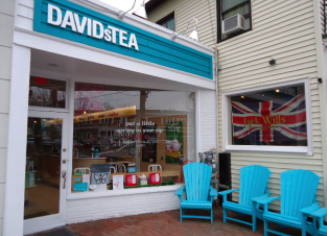 Downtown Westport waves goodbye to David's Tea