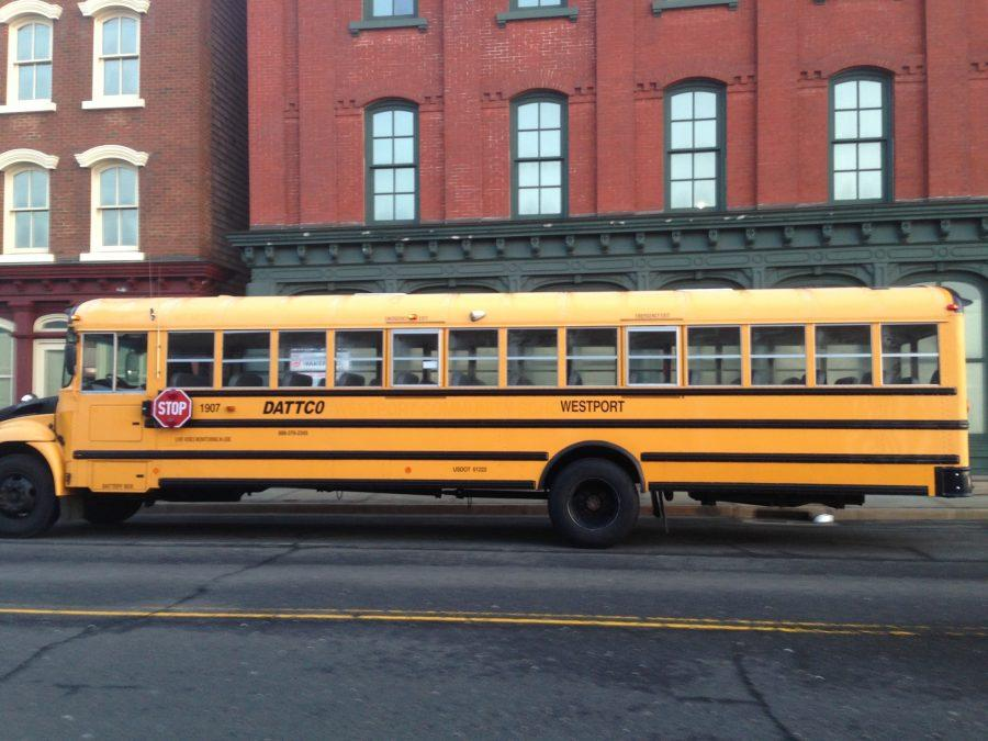 Potential+bus+strike+forces+students+to+scramble+for+rides+to+school