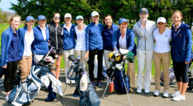 [April 2017] Girls' Golf tees up for another successful season