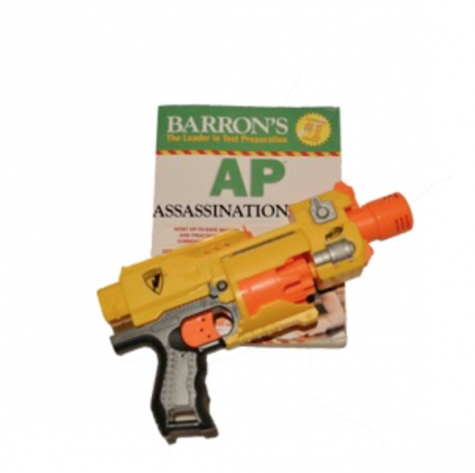 Return of the Nerf Guns: A.P. Assassination soon to come