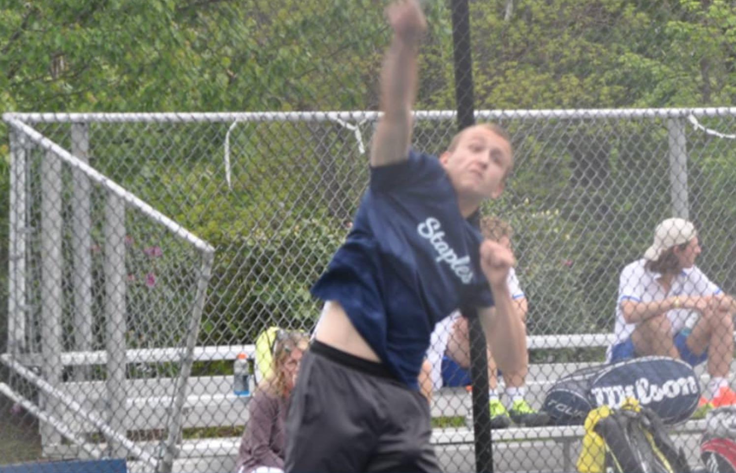 Staples Varsity Boys Tennis 5/23/17