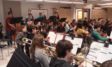 Graduating seniors say goodbye to their instruments