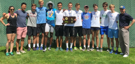 Track and field squeaks by to capture state championship