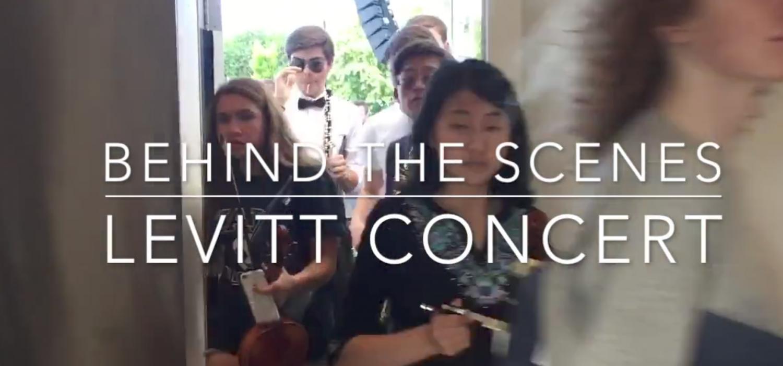 Levitt Concert - Behind the scenes