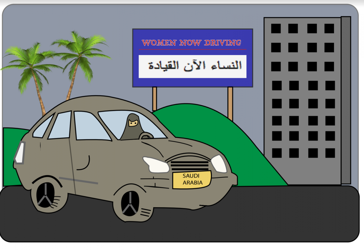 Motive behind Saudi Arabia's driving ban lift solidifies deeply flawed national ideology