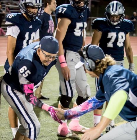 Dylan Curran inspires varsity football family