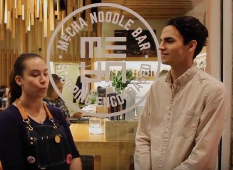 Mecha Noodle Bar food challenge