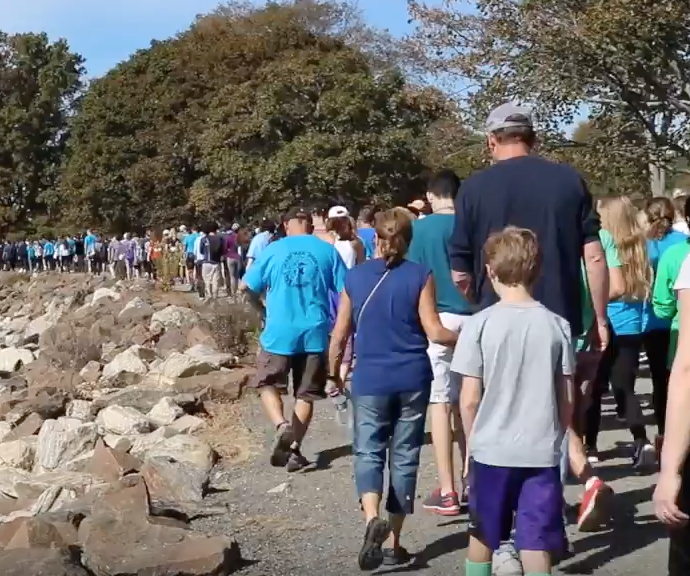 Out of the Darkness Walk sheds light on suicide prevention