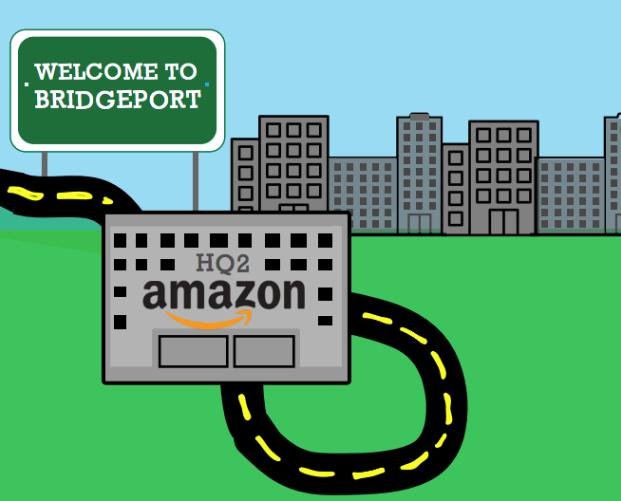 Four Connecticut cities bid for Amazon's second headquarters