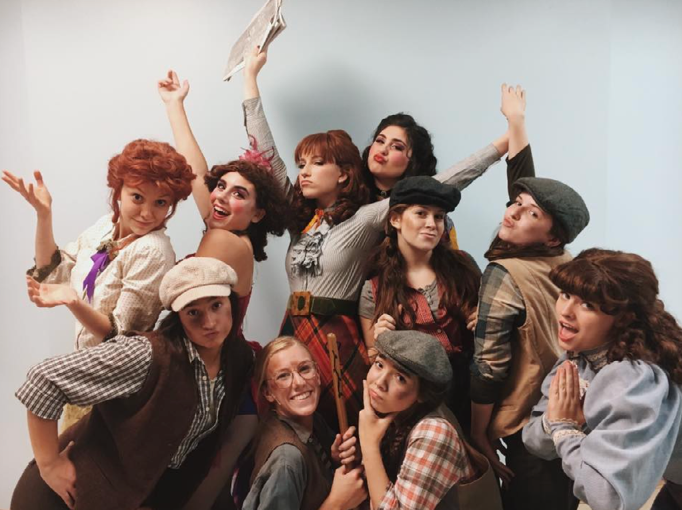 Staples+Players%E2%80%99+production+of+Newsies+thrives+in+opening+weekend