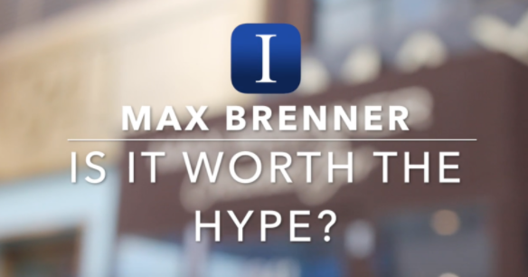 Is it worth the hype?: Max Brenner hot chocolate