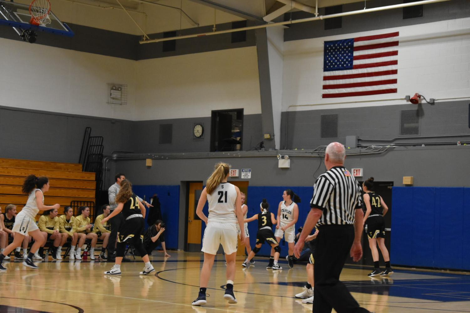 Girls' basketball face defeat against Trumbull after eight game winning streak