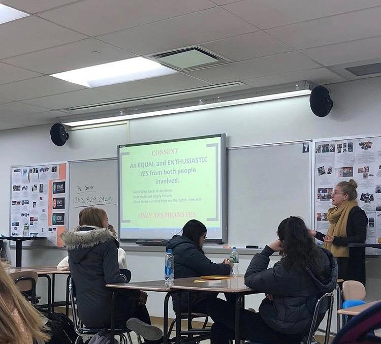 Sexual misconduct addressed in junior health classes