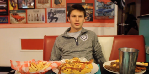 Famous 50s Diner Food Challenge