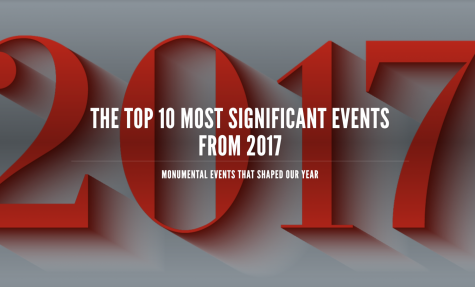 The top ten most significant events from 2017