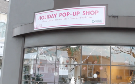 Inside look: holiday pop-up shop