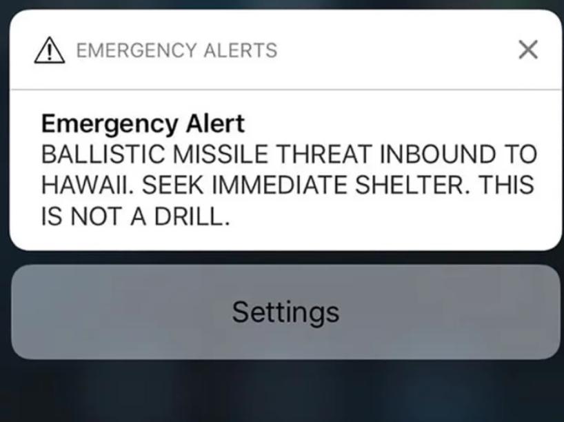 False nuclear alarm in Hawaii podcast