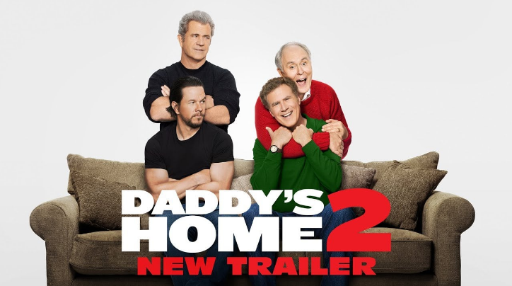 'Daddy's Home 2' tops the original