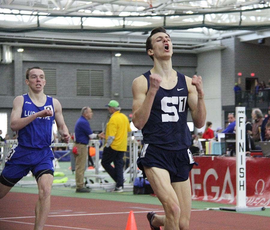 Will Landowne dominates indoor track season