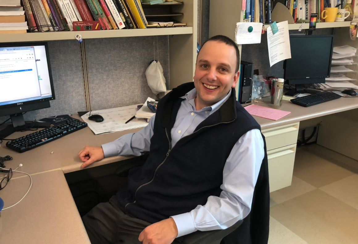 Mongridas shares his experiences throughout his teaching career