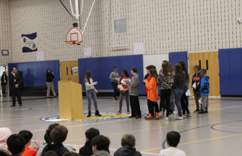 Bedford Middle School students take a stand on gun violence