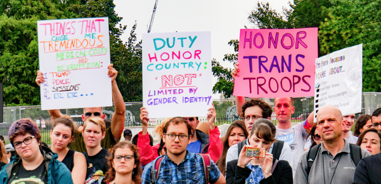 Transgender troops deserve respect