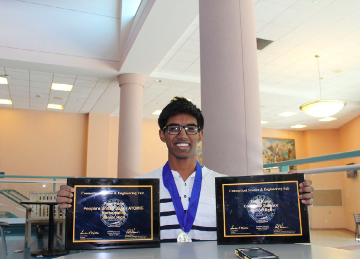 Murali ranks as finalist in Connecticut Science and Engineering Fair